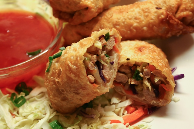 Pork and Veggie Egg Rolls