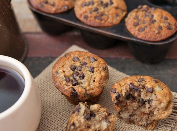 Banana Chocolate Chip Muffins/Bread