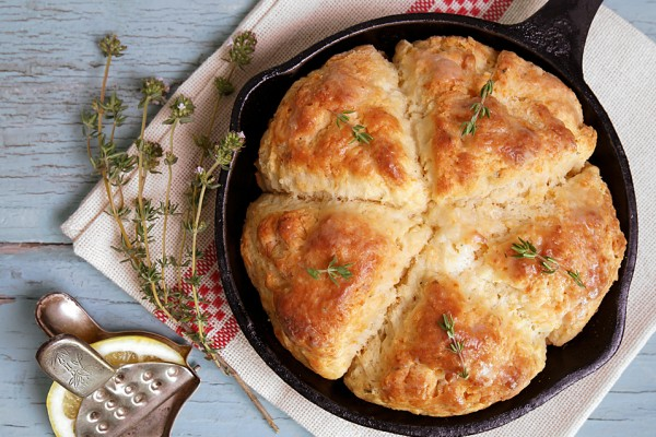 Lemon Thyme Cheese Scones