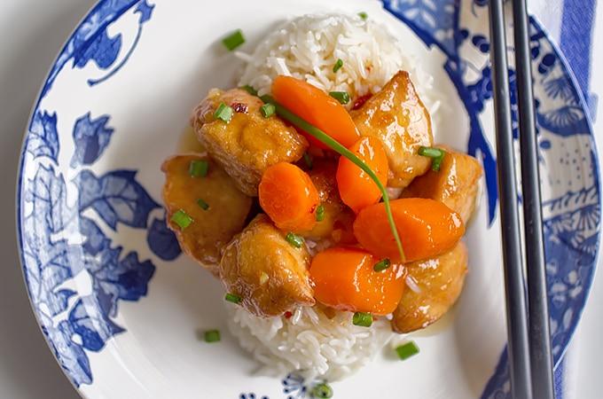 Easy Orange Chicken