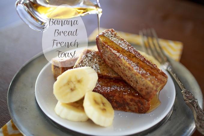 Banana Bread French Toast Sticks