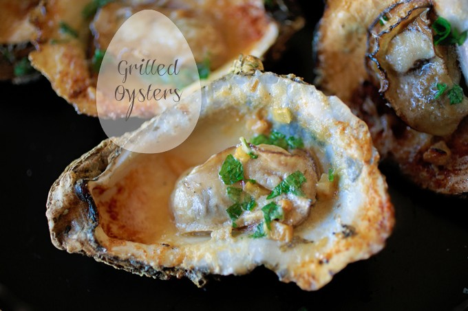 Grilled Bluepoint Oysters