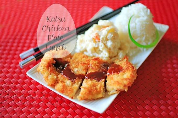 Katsu Chicken Hawaiian Plate Lunch