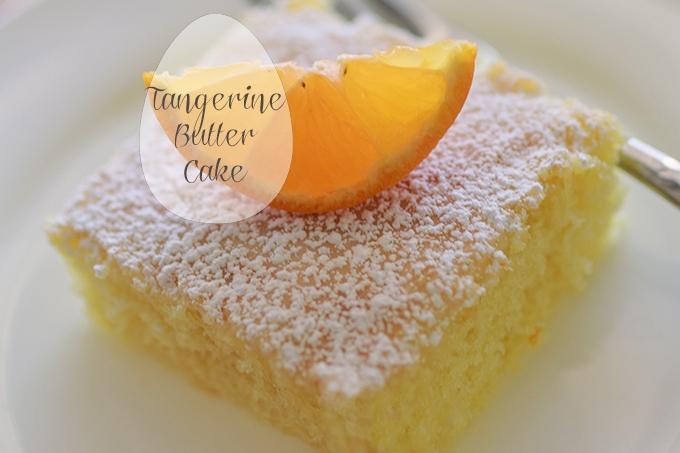 Tangerine Butter Cake