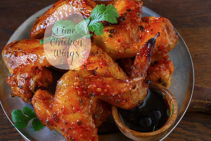 Vietnamese Lime Chicken Wings